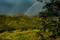 Rainbow near Santa Fe
