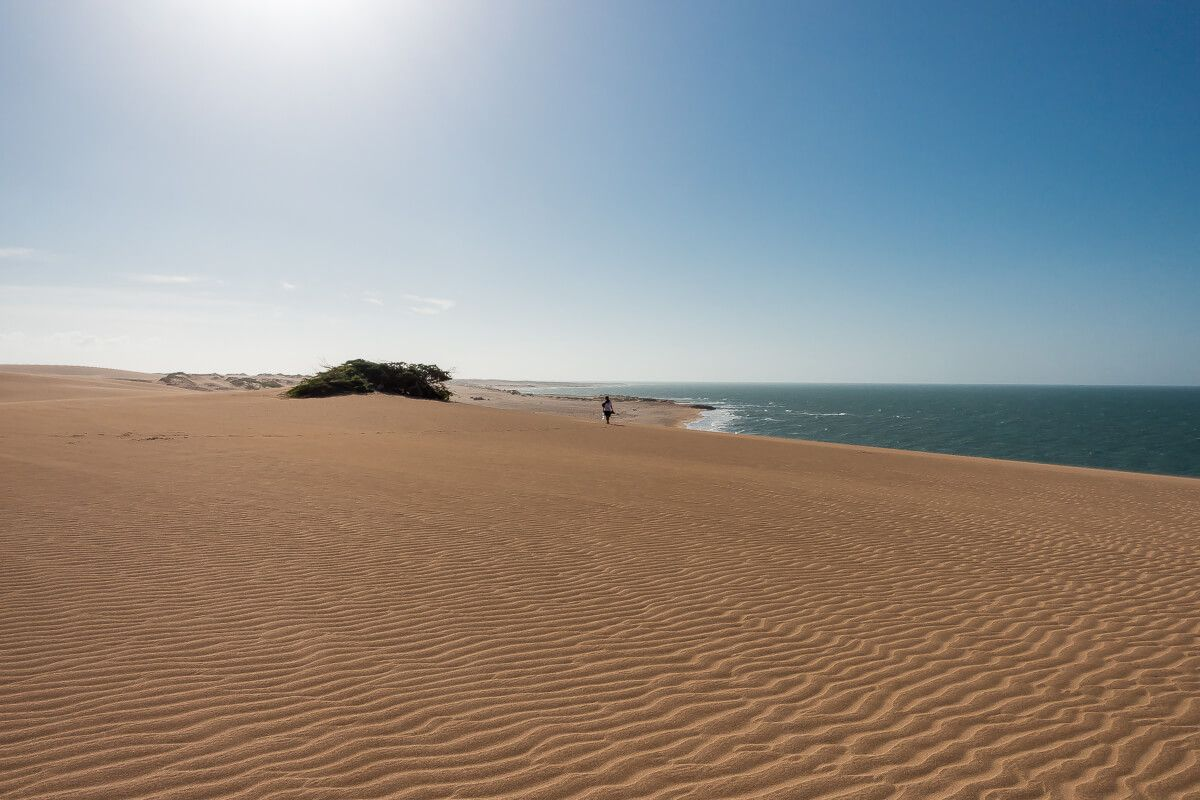 Dunas de Taroa La Guajira