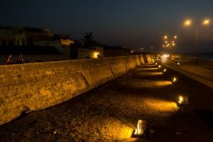 Muralla Night Cartagena